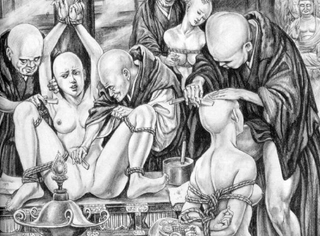 Порнопытки в средневековье