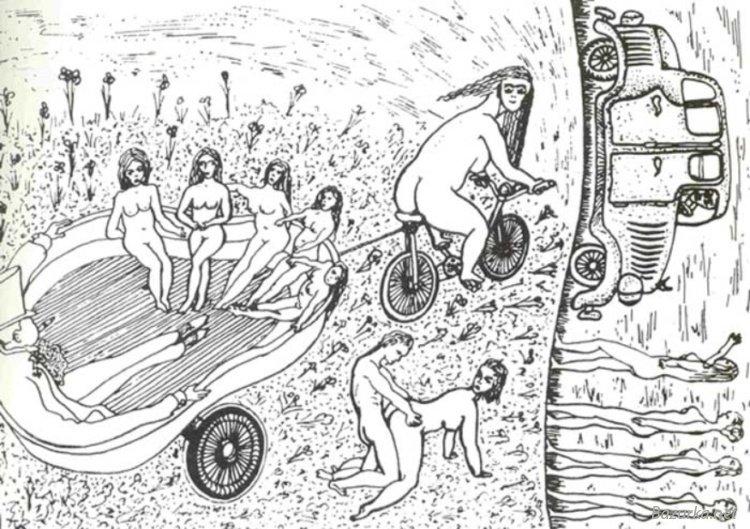 Нарисовать фотографию чены: карикатуры на композиторов.