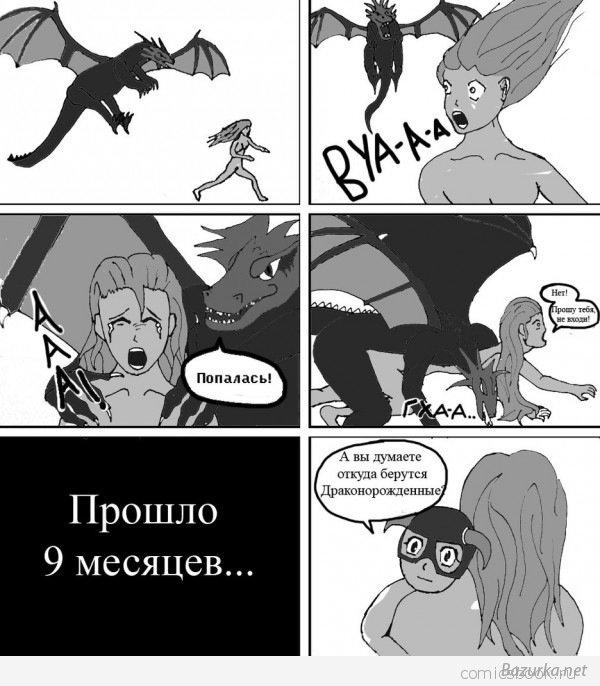 Все Комиксы Skyrim на Русском! 1323307019_y_934e0c2b