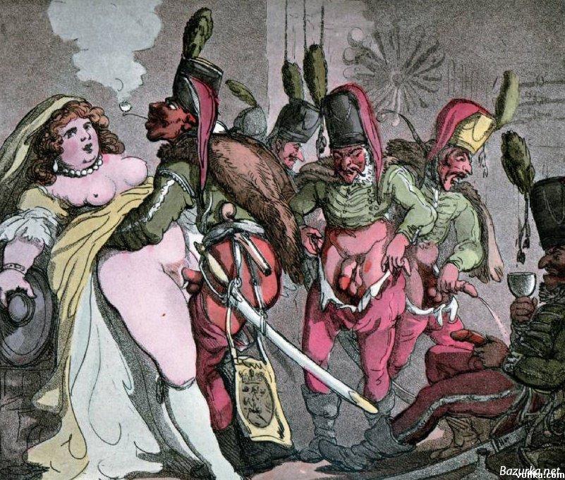 Эротика 18 века.