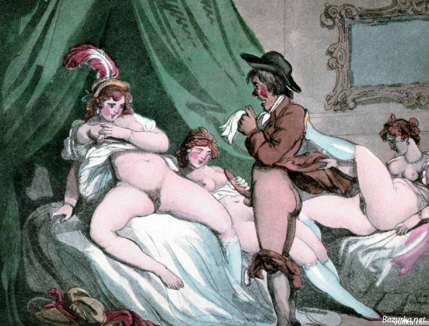 Онлайн порнофильм 18й век
