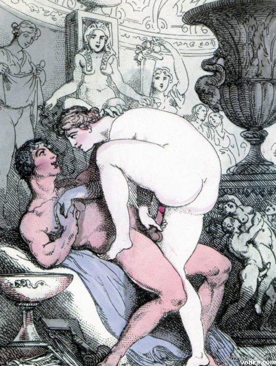 Рисунки старые порно