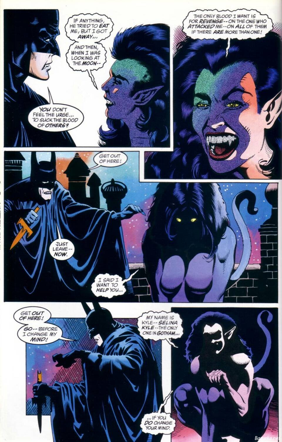 Комиксы Бэтмен Вампир (Две Части) » Легендарный портал ...
