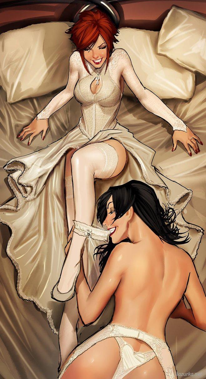 Эро комикс арт 19 фотография