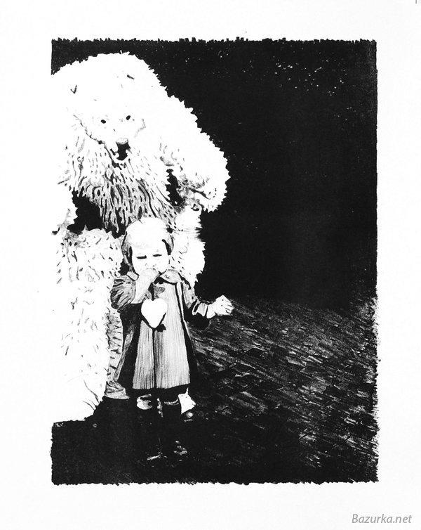 медведь рисунки и фото