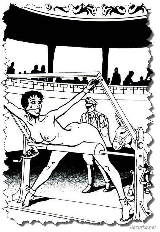 Секс рисунки пытки