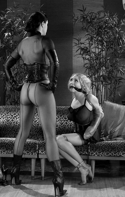 Чёрная госпожа и белая рабыня