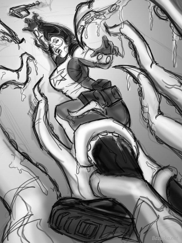 Хентай с осьминогами картинки 9 фотография