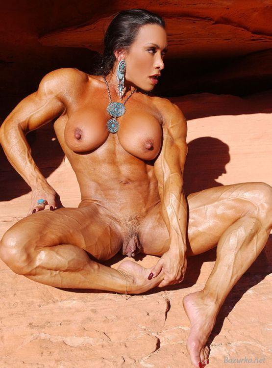 порно фото культуристки