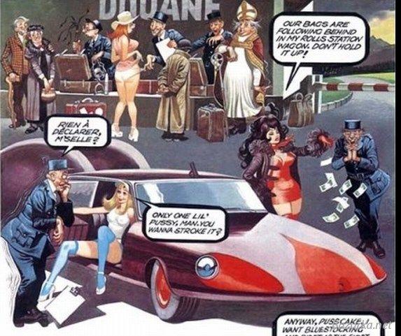 Подарок на день рождения бдсм комиксы 1 часть 22