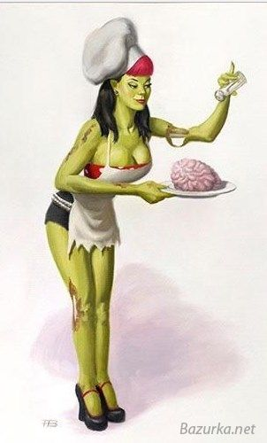 Zombie pinup girls